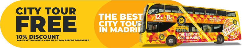 City tour free 10% discount for early bookings made up to 24hs before departure